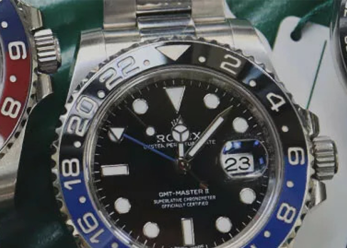 Three Rolex watches side by side