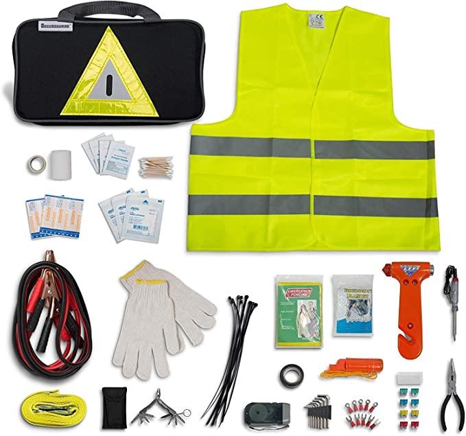 Secureguard Roadside Emergency Kit Supplies